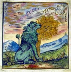 MS Ferguson 210 Illustration No.18 The Lion devours the sun