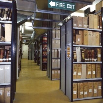 University Archives' Thurso Street repository