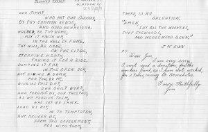 Letter to Reid