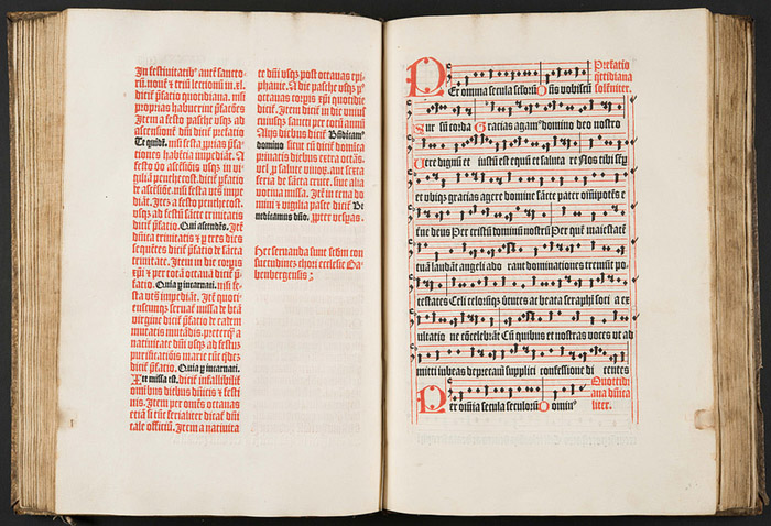 early printed music