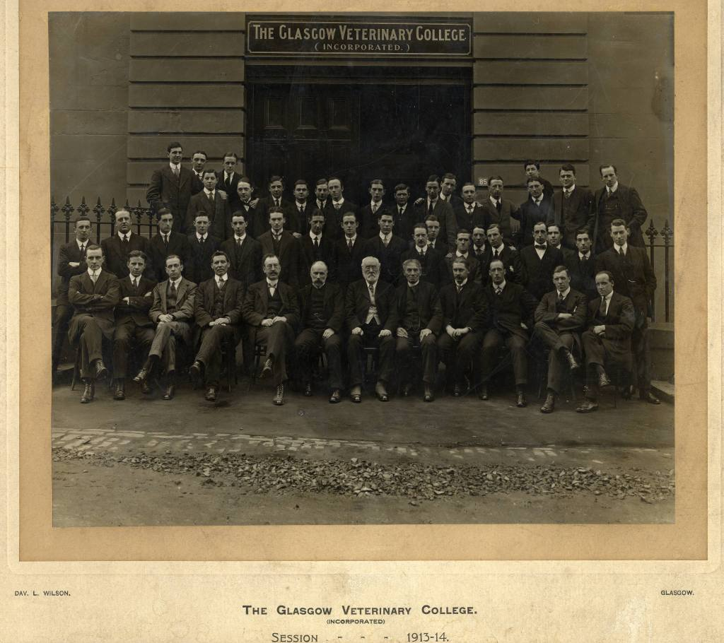 The Glasgow Veterinary College 1913-1914