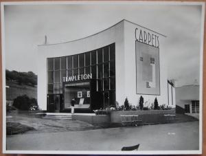 Templeton Carpet Factory's pavilion