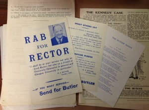 Material relating to the Butler campaign (ref DC180/5/74)