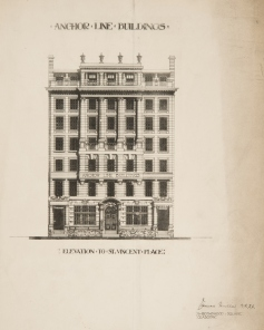 Brochure for the Anchor Building
