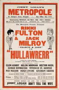 Hullawrerr. Metropole, St George's Cross, Glasgow, 1968 May 6. STA JLC 46/57