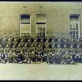 No. 5 Platoon, B Company, 6th Battalion, Queen's Own Cameron Highlanders. Basingstoke, Hampshire March 1915 (MS GEN 1376/11/7)