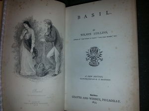 Frontispiece & titlepage of Basil. Sp Coll z4-c.2
