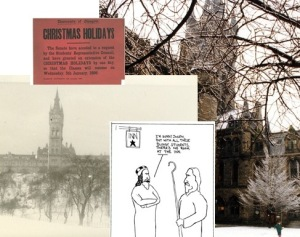 Sneak preview of our festive records from the University collections