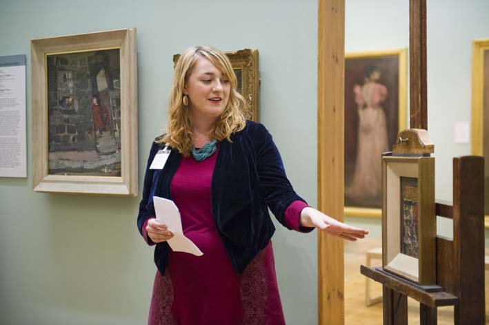 "Current Hunterian Associate, Kirsty Strang, discusses her project on Edwin Morgan's ""Glasgow Sonnets"""
