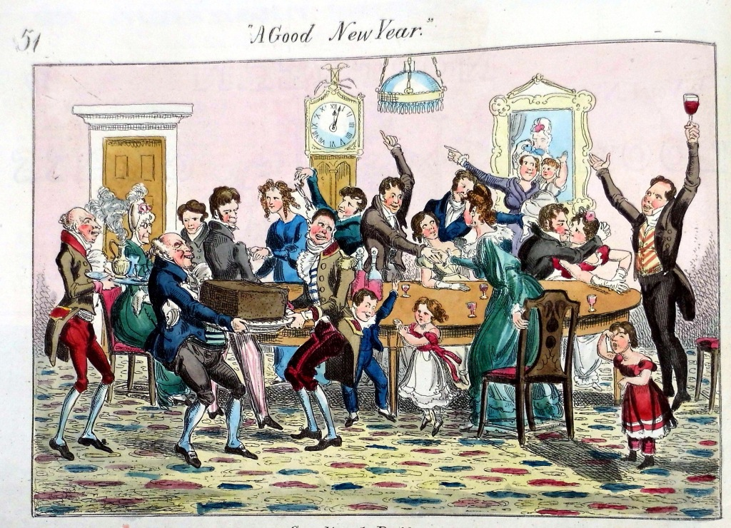 """A Good New Year"". Northern Looking Glass (Sp Coll Bh14-x.8)"