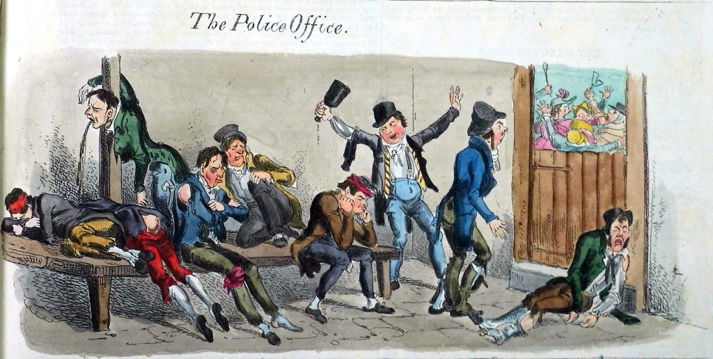 """The Police Office"" - Northern Looking Glass (Sp Coll Bh14-x.8)"