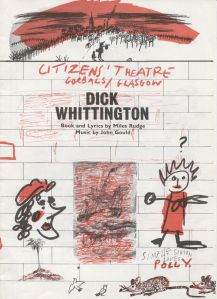 Dick Whittington at the Citizen' Theatre, Glasgow. STA Ex 2/1a