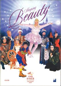 Elaine C. Smith in Sleeping Beauty at The King's Theatre, Glasgow. STA PYC 9/17