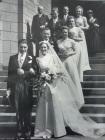 Wedding of John and Charlotte (née Nicholson) Edgar 4th August 1938
