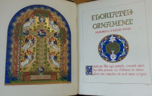 Titlepage & frontispiece of Floriated Ornament. (Sp Coll f419)