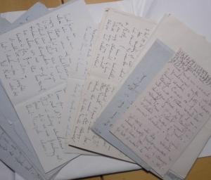 Ms MacColl H155-192: letters in folder
