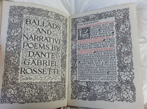 Ballads and Narrative Poems by Dante Gabriel Rossetti (Sp Coll Hepburn 246)