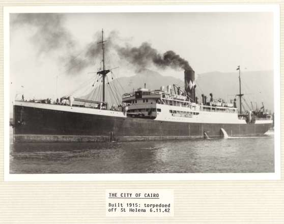 The SS City of Cairo (UGD131/2/8/14 p2)