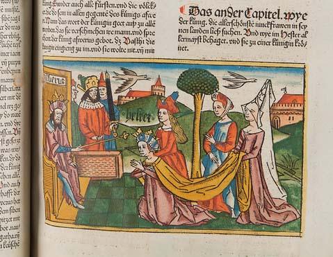 Woodcut from 1483 Koberger Bible