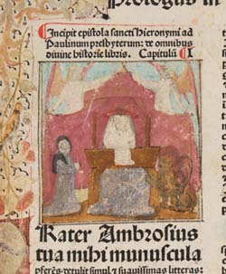 Miniature of Jerome
