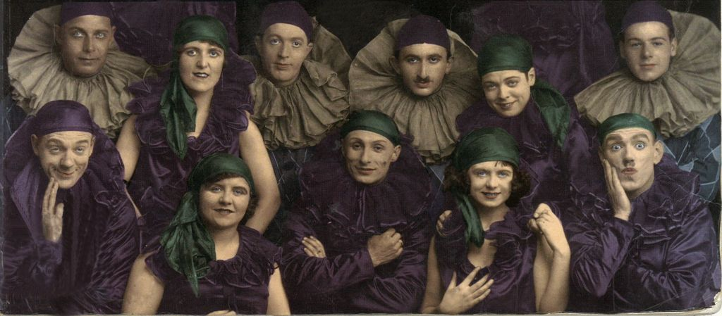 Scotch Broth revue: Renee, second right front row with Billie directly behind (STA H.k 33)