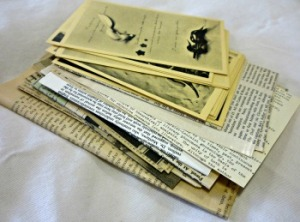 Morgan's copy of Herbert Read's Surrealism, with inserts. From the Mitchell Library