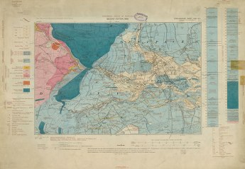 One of our Geological maps in the sale