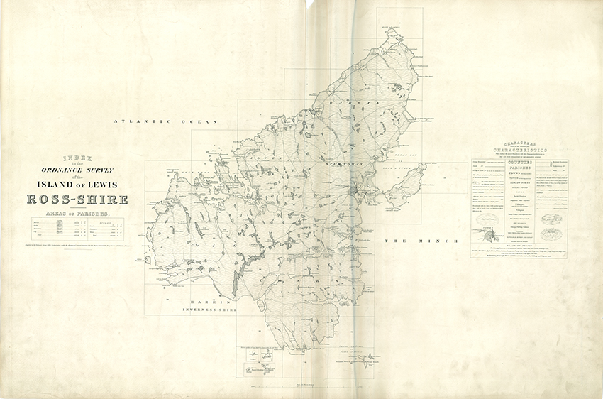 1850s Isle of Lewis Map Sale – University of Glasgow Library
