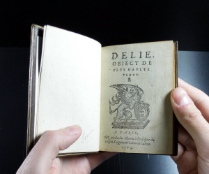 Maurice Scève's 'Délie' (Paris, 1564.): Sp Coll S.M. Add. 467
