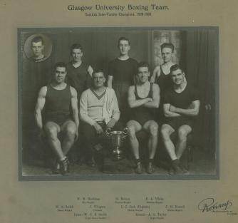 Glasgow University Boxing Team 1929 - 1930 (DC71/5/4)