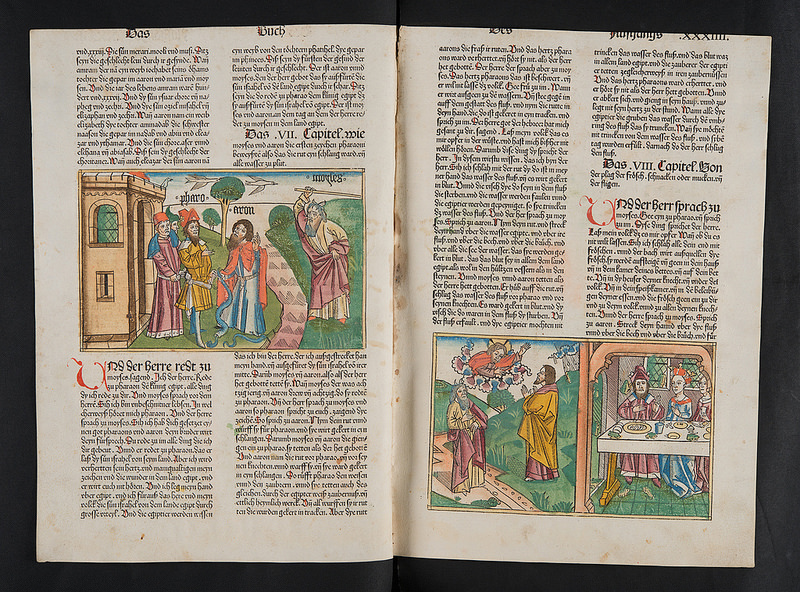 Koberger Bible (now Sp Coll Euing Add. f52)