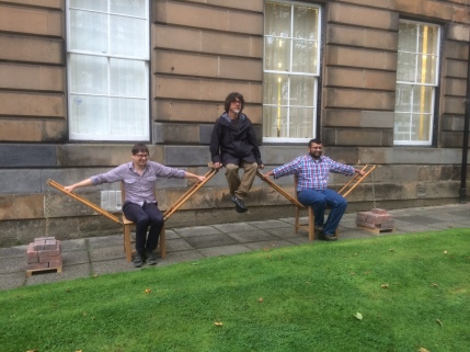 Reconstruction of the human bridge at the School of Engineering with director Yusuke Amano