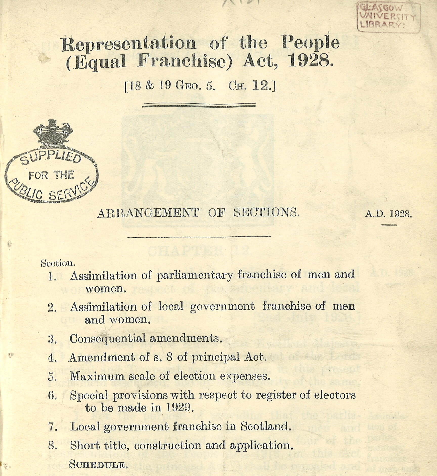 an introduction to the representation of the peoples act To commemorate the 100th anniversary of the representation of the people act, 1918, proni in conjunction with queens university belfast and the ulster society of irish historical studies hosted a full day conference examining the history and context of the act on 6 february 2018.
