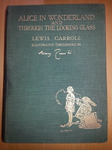 Title page of Alice In Wonderland, 1928 (Hepburn q20)