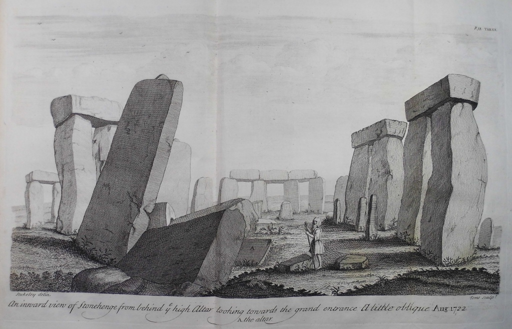 Stonehengeby William Stukeley (in Sp Coll f450)
