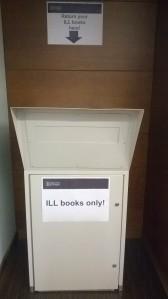 ILL book return 3