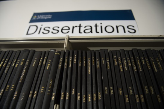 Adam Smith Library Dissertations