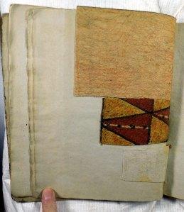 Tapa samples from Shaw's catalogue (Sp Coll Hunterian K.5.22)