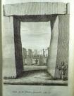 View through Stonehenge trilithon (Sp Coll f450)