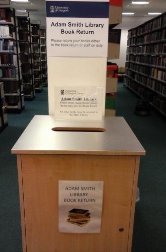 Adam Smith Library Book Return