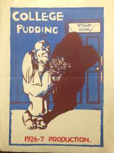 College Pudding programme 1926-27 (DC410/9/2)