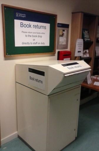 James Herriot Library Book Return