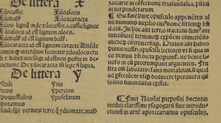 Colophon from Praepositus (or not!): Strathclyde University