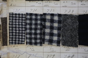 Tweed pattern book from J & A Ogilvie 1834 (Heriot Watt: GH/6/1/1/4)