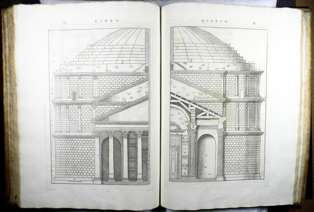 Palladio's I quattro libri dell'architettura (Sp Coll Hunterian Aw.w.15)