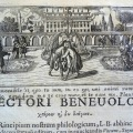 Engraving from Ericus's Athropoglottogonia, 1697. Sp Coll BC4-e.17