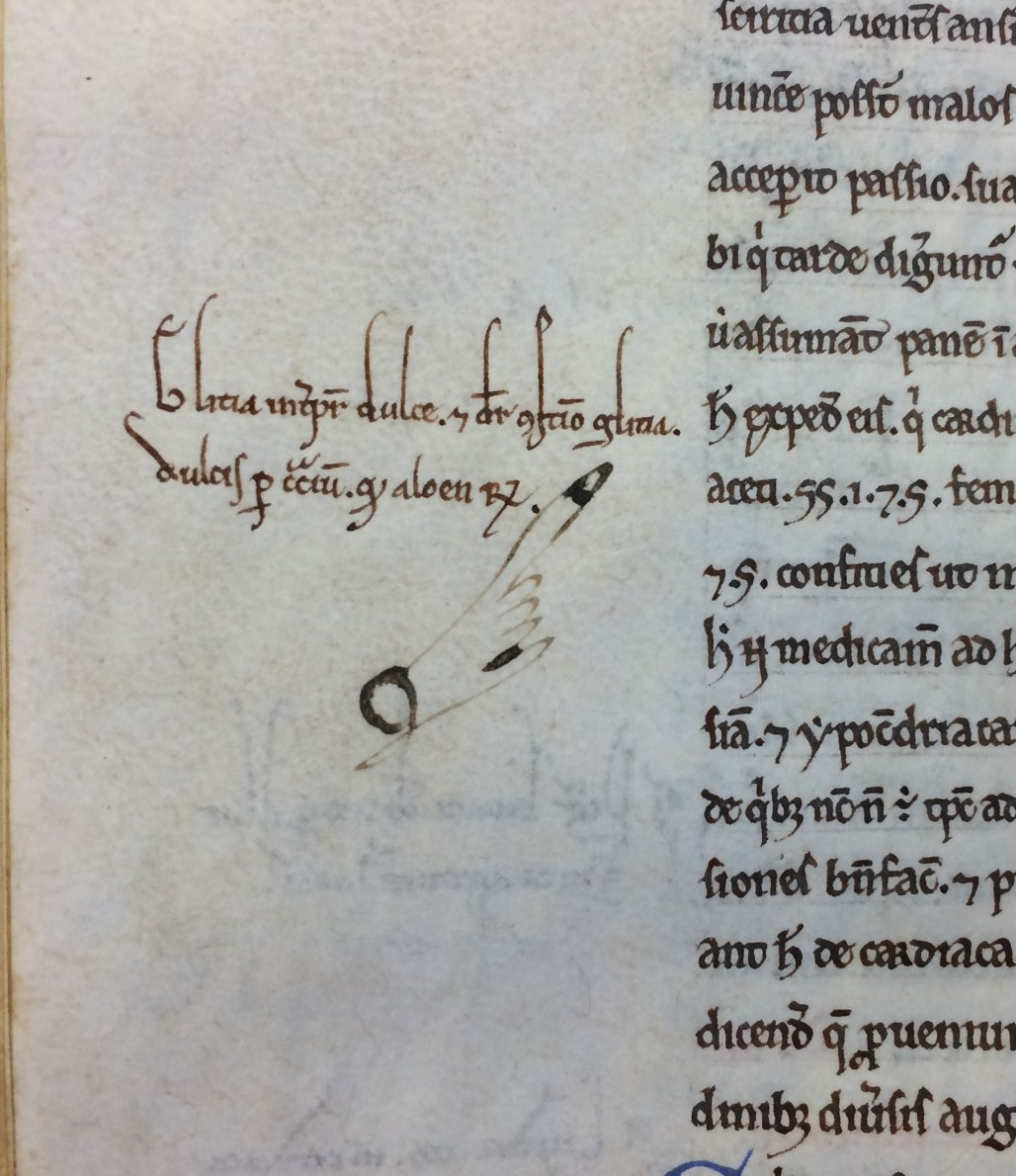 "Manicule in the margins of ""Regulae Pastoralis Liber"", 10th-11th Cent. (MS Hunter 431 (V.5.1))"