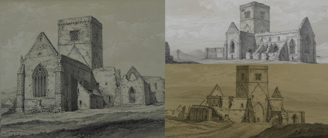 Exterior of Iona Abbey : Sp Coll Mu4-y.10