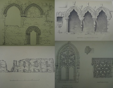 Architectural details of Iona Abbey : Sp Coll Mu4-y.10