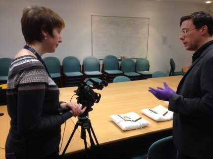 Dr Matthew Creasy speaks to Kat about the First Edition